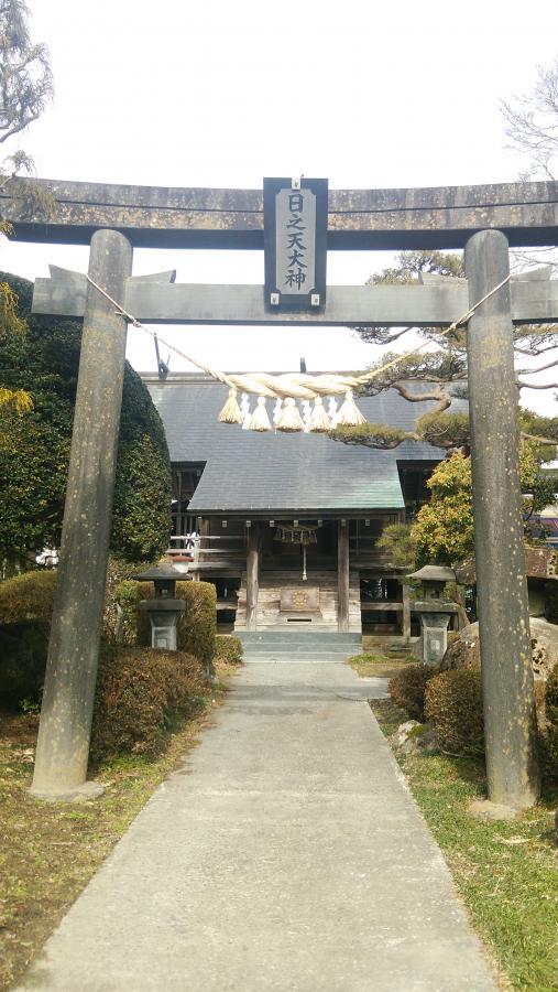 涌谷町/旧涌谷神社の神殿